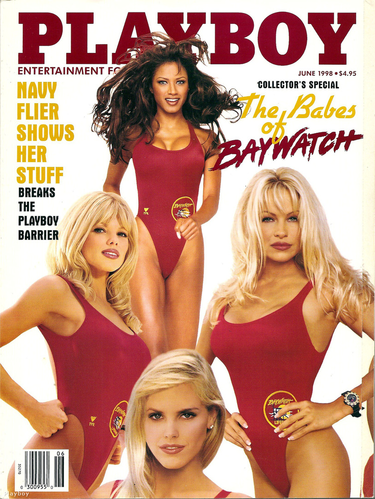 Ez a Baywatch-lányokkal teli címlap annyira nem régi, hisz csak 1998-as, de a rajta szereplő nők már közel sem így néznek ki