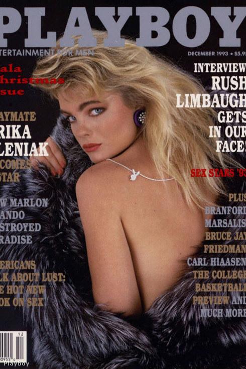Egy szintén híres Baywatch-lánynak, Erika Eleniaknek is volt Playboy-címlapja, 1993-ban