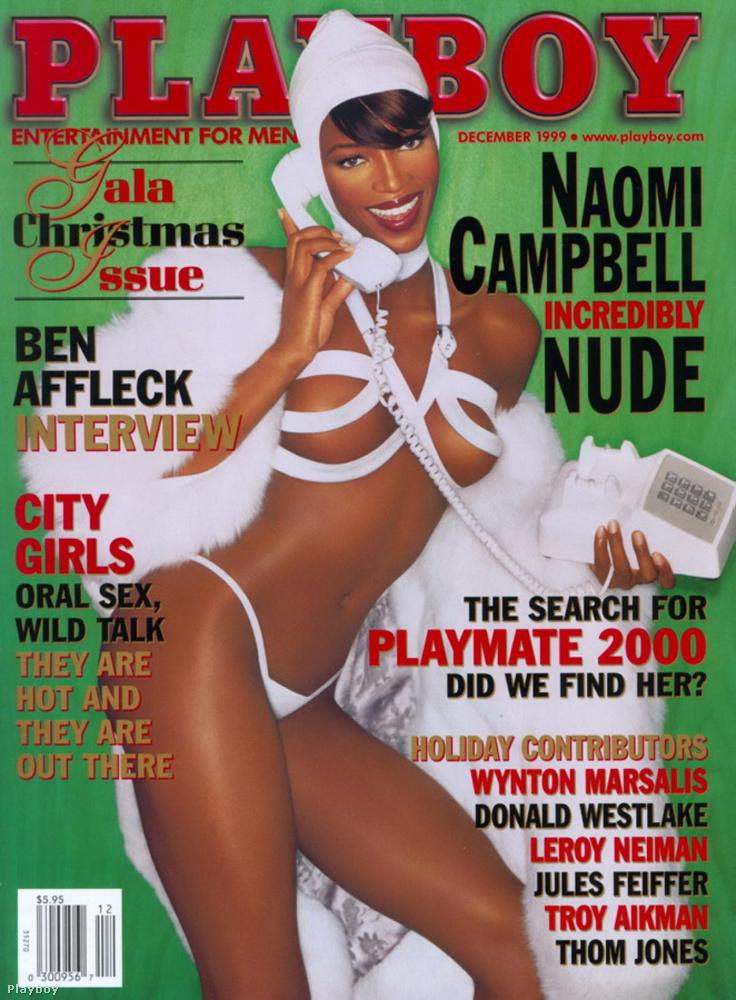 Naomi Campbell címlapja '99-es