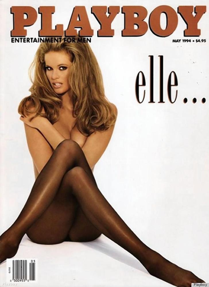 Elle Macpherson 1994-es, ikonikus Playboy-címlapja