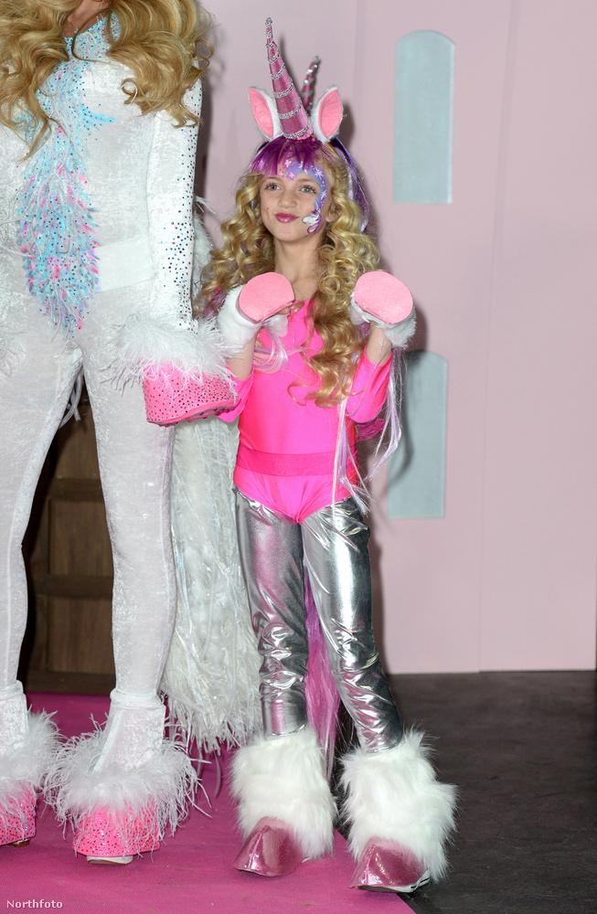 Katie Price lánya, Princess Tiaamii is szerepel majd a műsorban