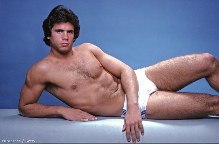 Utolsó vizsgálati alanyunk Lorenzo Lamas, akiről ez a fotó 1979-ben készült.