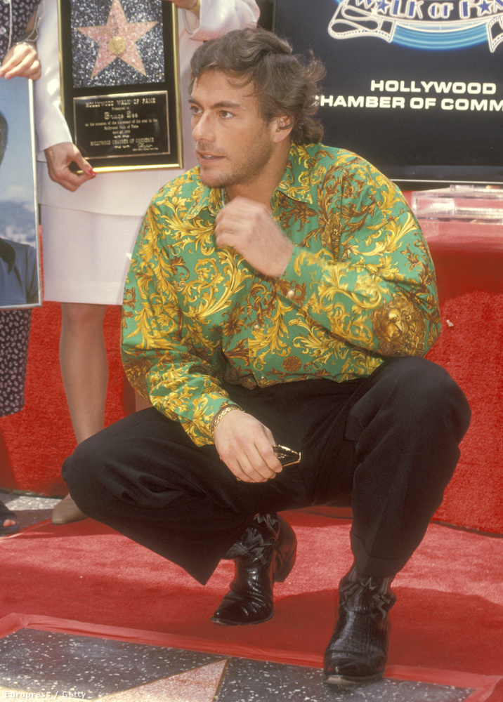 1993-ban így vette át a csillagát a hírességek sétányán