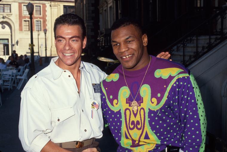 1990-ben Mike Tysonnal így lazázott.