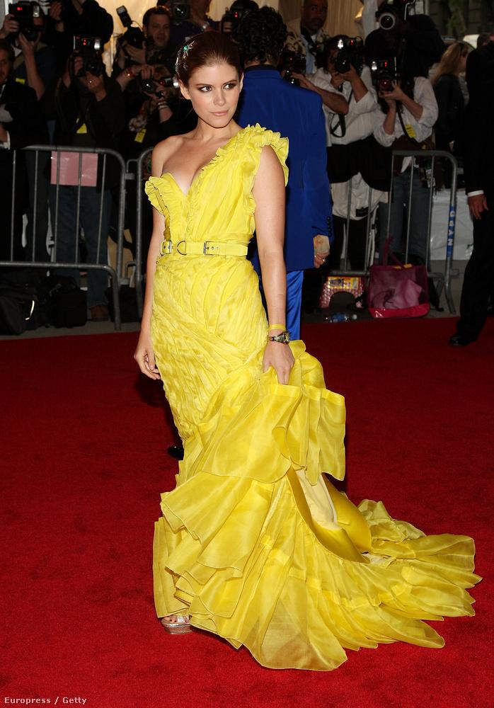 2008-ban Kate Mara így gondolta magát szuperhősnek vagy fantasy-szereplőnek - ez volt a téma.