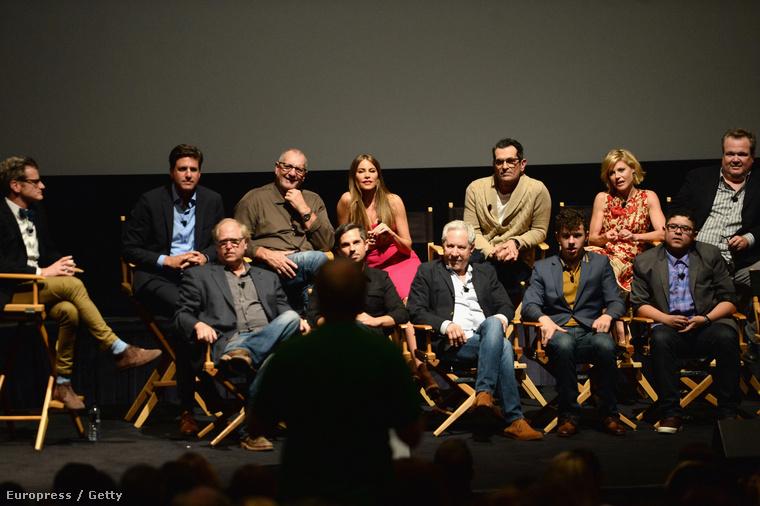 A Modern család szereplői május 2-án részt vettek az Academy of Television Arts & Sciences eseményén