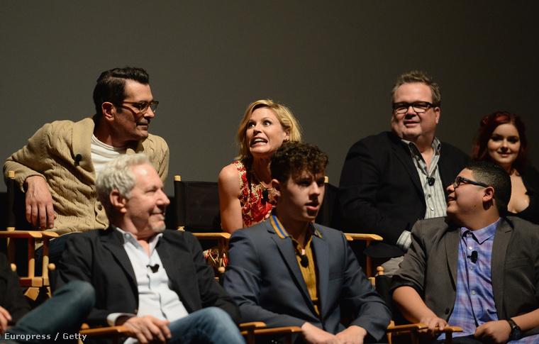 A sorozat hangulatához illően alakult az este, volt bohóckodás és sok nevetés