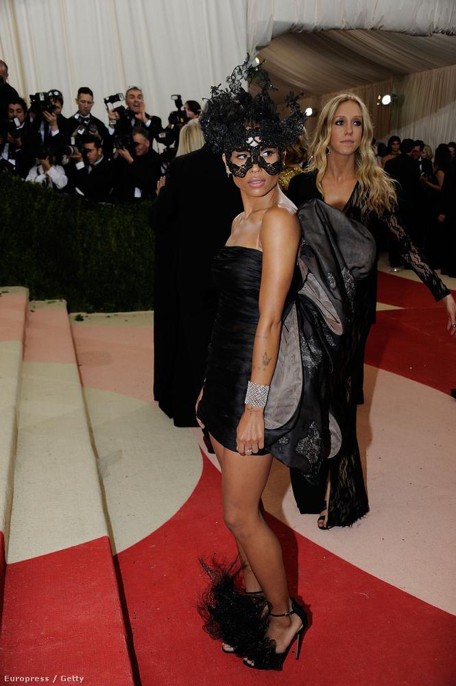 Lenny Kravitz lánya, Zoe Kravitz volt a legeredetibb