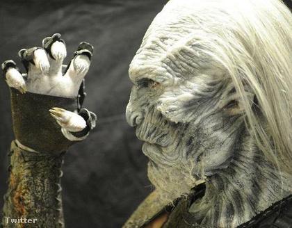 A Mások, azaz a White Walkers egyik vezéreként beöltözve így néz ki a sorozatban.