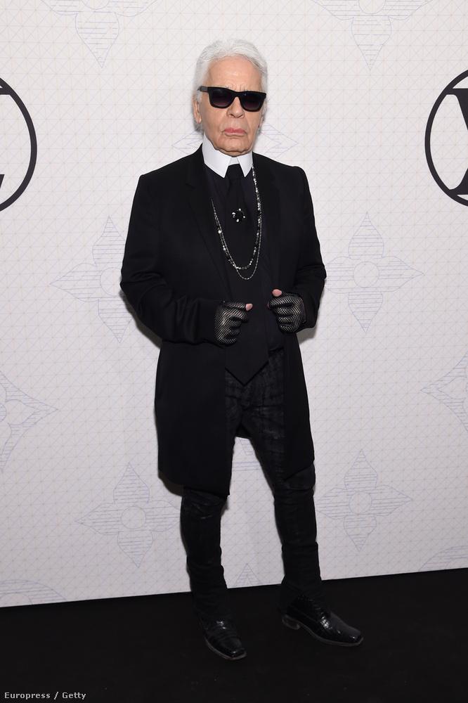 Rengeteg fekete kesztyűje lehet, és nem ő az egyetlen divattervező, aki a feketére esküszik.
