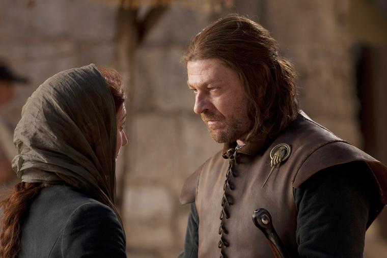 Catelyn és Ned Stark egy remek házaspár, szép családdal