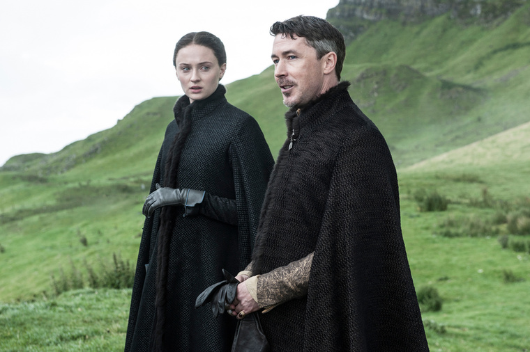 A nagyobbik lányukra, Sansára majd vigyáz Lord Baelish!