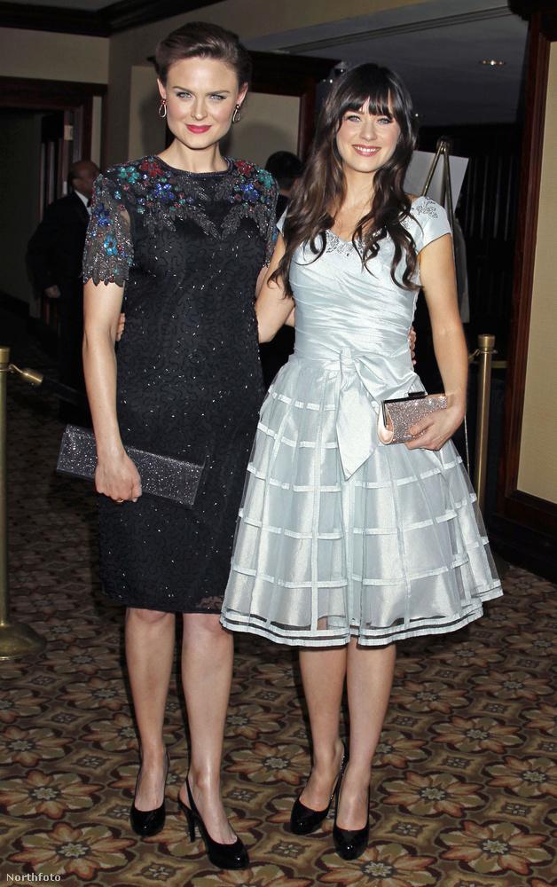 Emily Deschanel és Zooey Deschanel mindketten színésznők