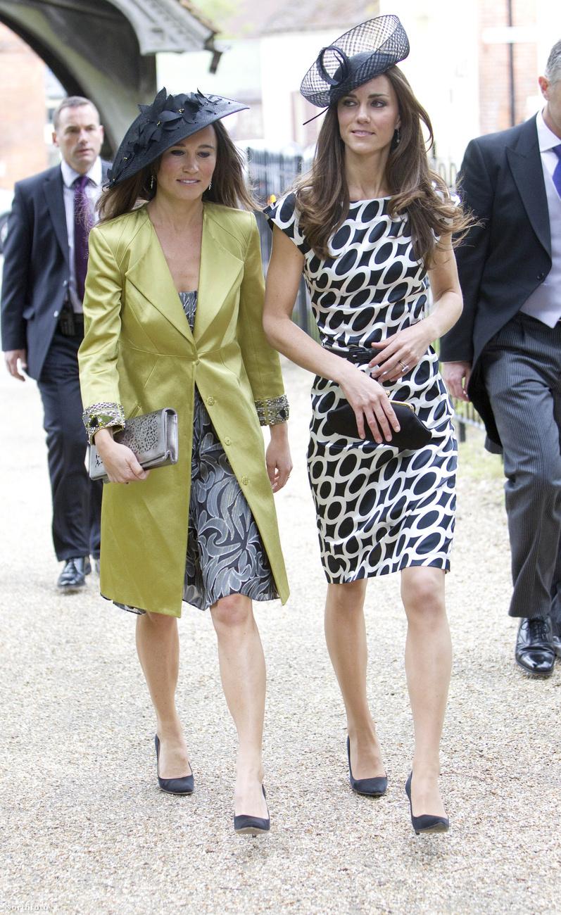 Katalin hercegné, lánykori nevén Kate Middleton testvérére a királyi frigy alatt figyelt fel a világ