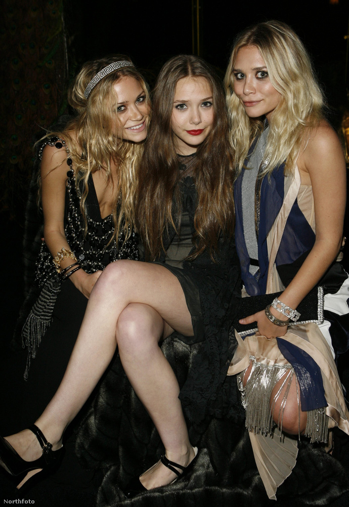 Ashley Olsen, Mary Kate Olsen és Elizabeth Olsen mindhárman ismert színésznők