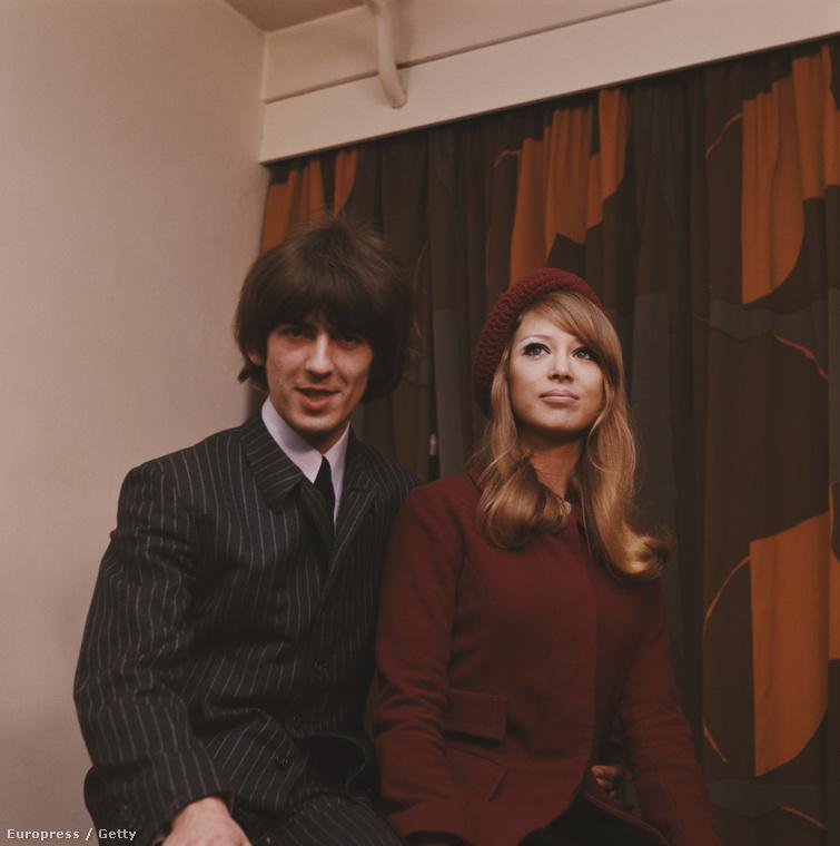 Nem George Harrison volt a Beatles legjóképűbb tagja, mégis összeszedte maga mellé Patti Boydot!