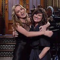 az anyukáját vitte el, amikor a Saturday Night Live-ot műsorvezette