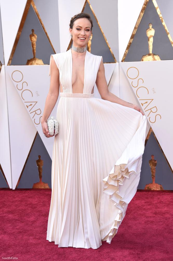 Olivia Wilde, színésznő, aki épp a második gyerekét várja