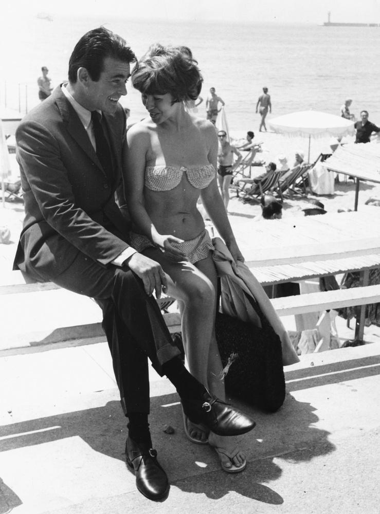 Stuart Whitman és Cynthia Granier 1961-ben a The Mark c