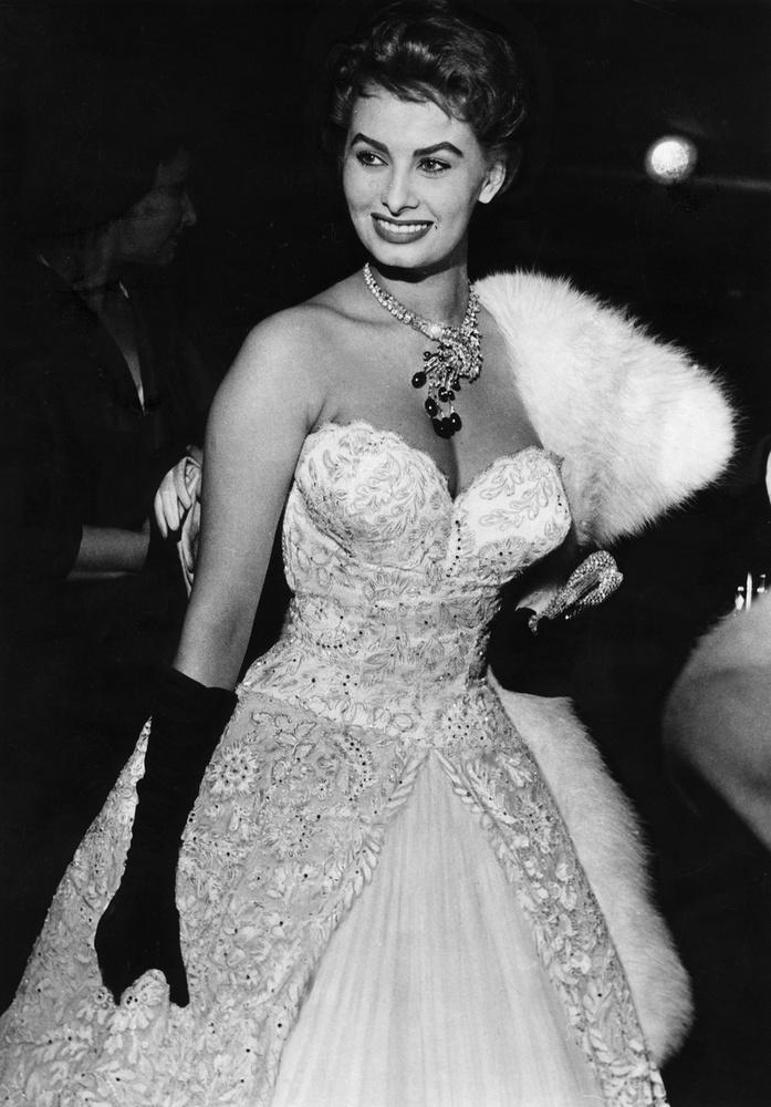Sophia Loren 21 évesen