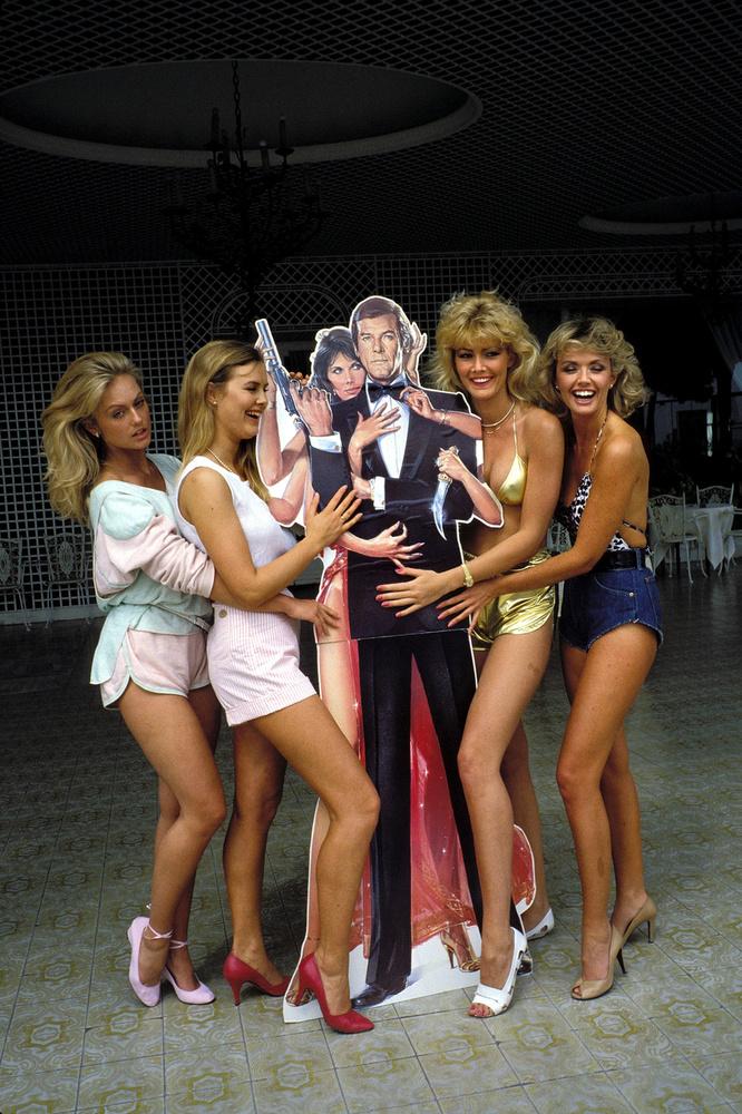 Bond-lányok 1983-ból