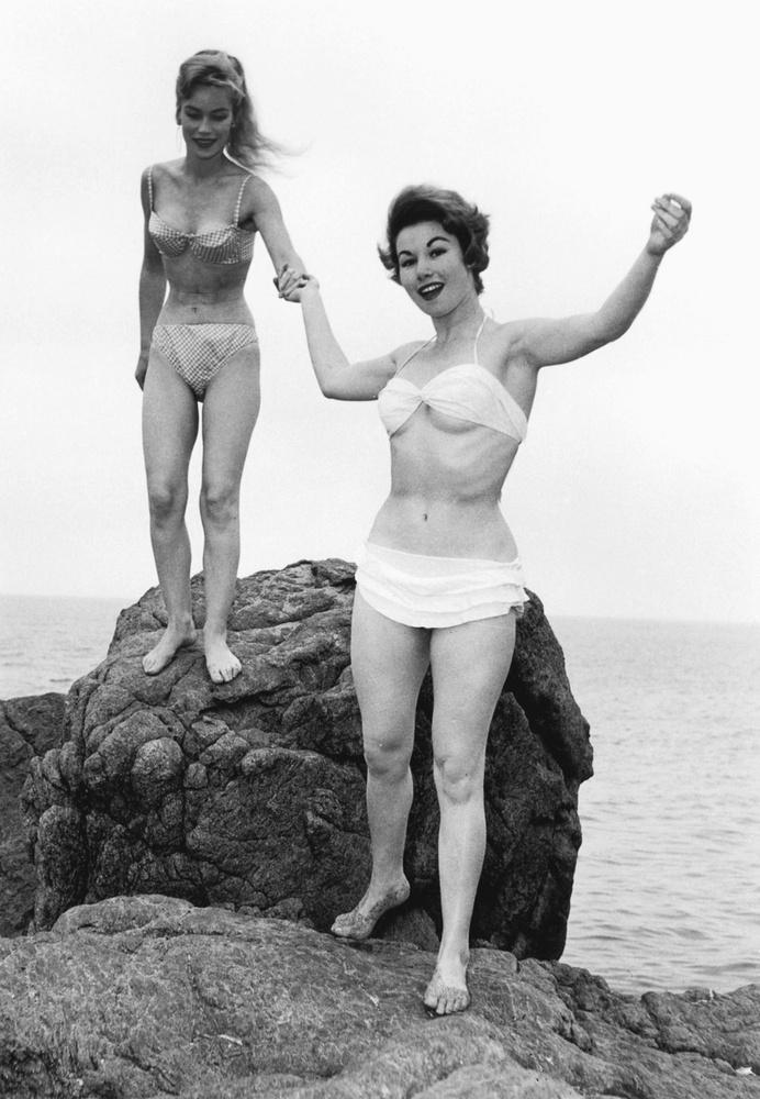 Estelle Blair és Nadine Tallier