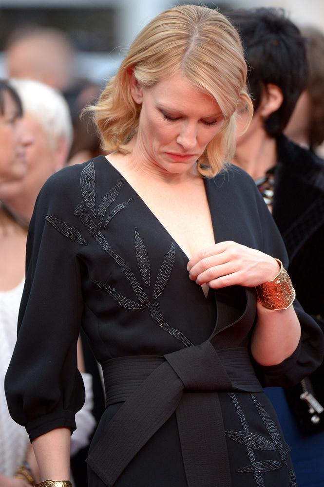 Cate Blanchett nem véletlenül félt, hogy neki is kicsúszik valamije.