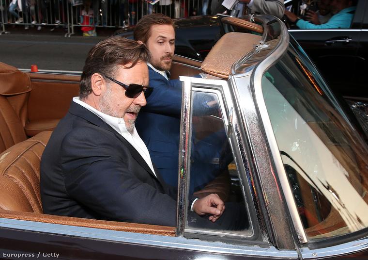 Crowe és Gosling először játszanak együtt egy filmben, a hazai mozikban május végén látható a film, Rendes fickók címmel.
