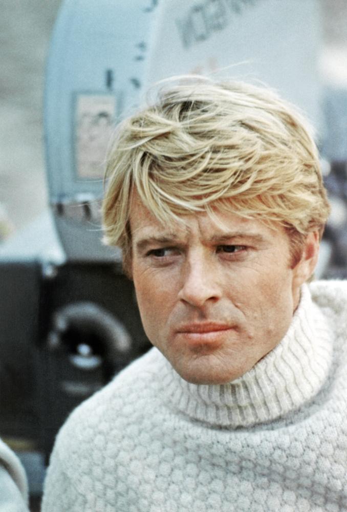 Utolsóként álljon itt Robert Redford, és az ő fehér garbója
