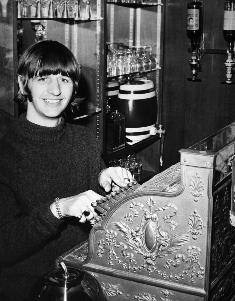 A kép pedig 1963-ban készült, Ringo Starr 23 évesen