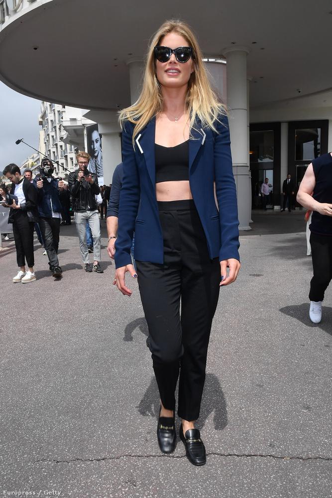 Cannes-ban nyilván nagyon meleg van.