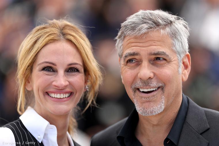 Julia Roberts és George Clooney nagyon régóta barátok, ami akkor is látszott rajtuk,