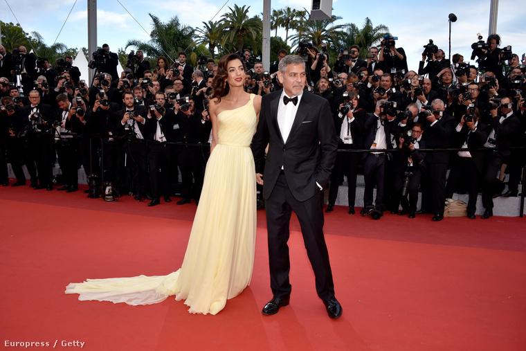 De most nem ő a legfontosabb női szereplő a történetben, hanem Clooney-né