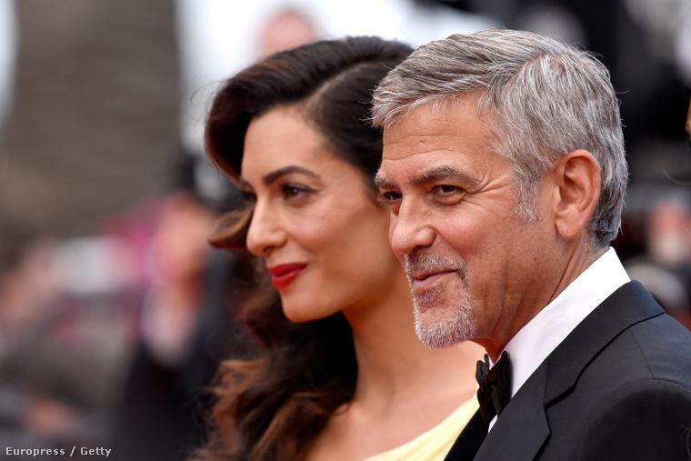 Az a helyzet, hogy Amal és George Clooney káprázatos látványt nyújtanak