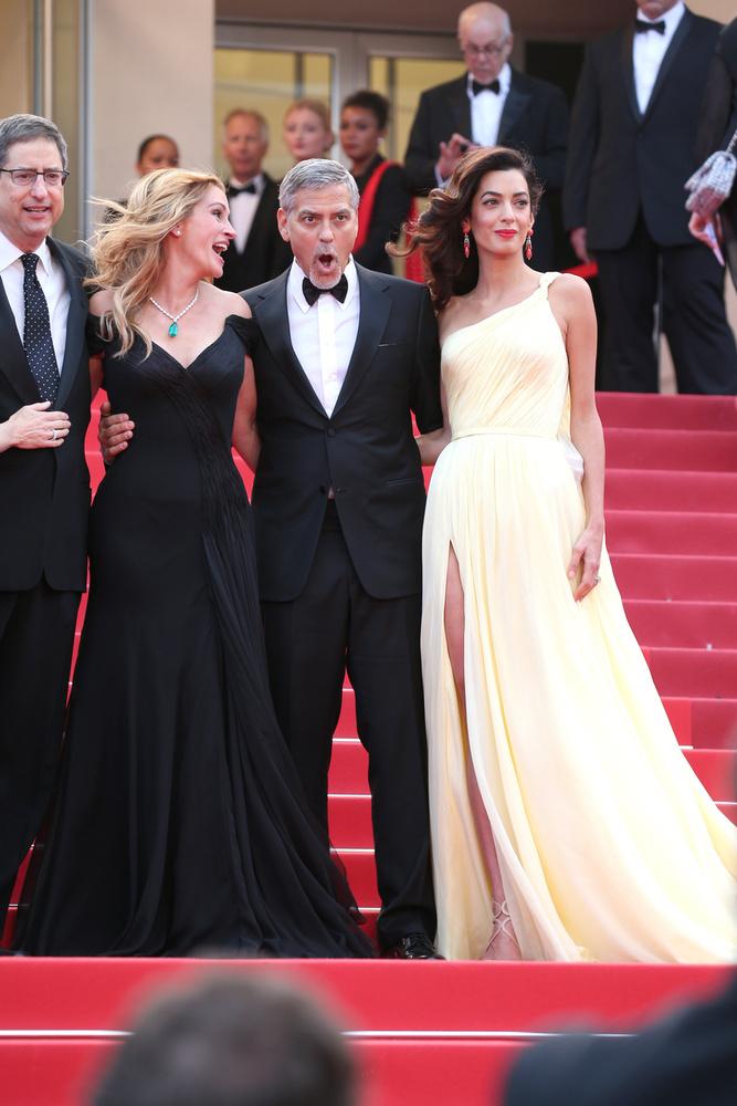 A premieren volt minden, George Clooney és Julia Roberts hülyéskedtek,