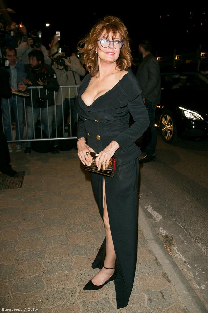 Az az igazság, hogy Susan Sarandon lehetett az egyetlen, aki nem öltözött át a Money Monster bemutatója utánciki
