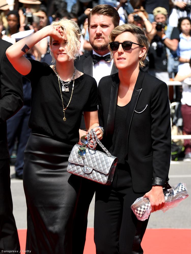 Kristen Stewarttovábbra is Cannes-ban van,, mert több filmje is ott mutatkozik be