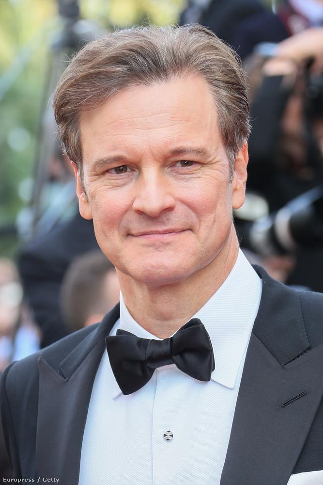 Colin Firth, minden angol filmek egyik legsármosabb sztárja ott van éppen, ahol a legtöbb színész mostanában: