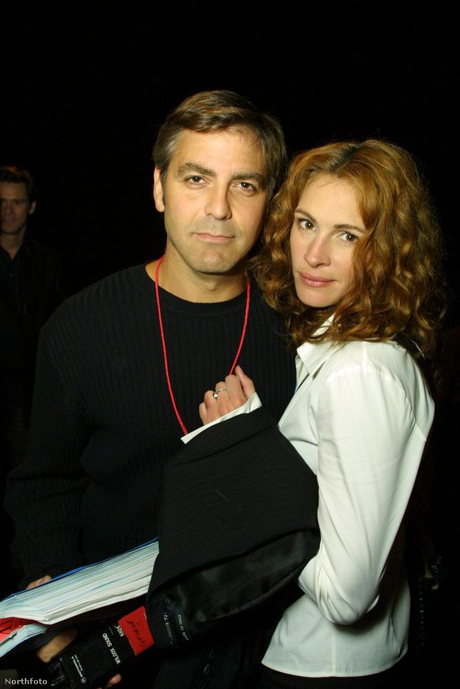 10 évvel ezelőtt, Clooney 45 éves, Roberts pedig 38