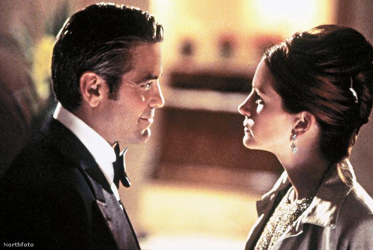 Clooney szeretett kaszinókat kirabolni, Roberts meg szerette