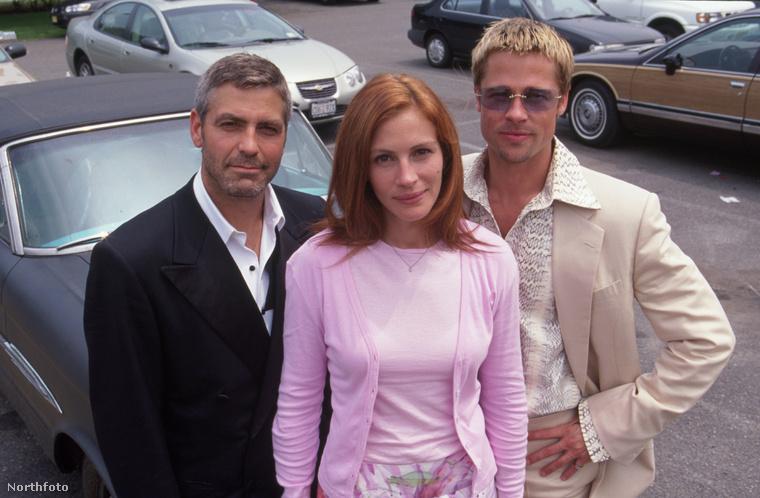Ráadásnak ott volt még Brad Pitt és a kék szemüvege is