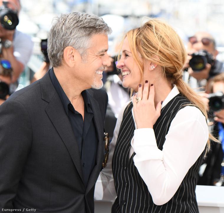 Julia Roberts és George Clooney legutóbb Cannes-ban promózták az új filmjüket, a Money Monstert