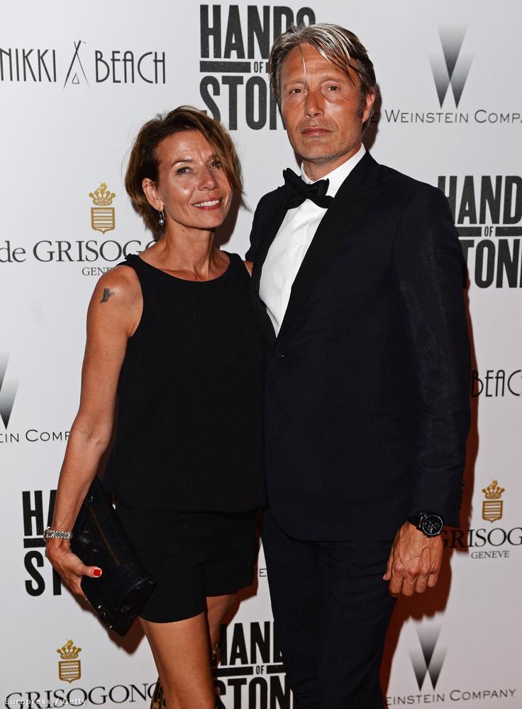 a Hands of Stone című film bemutatója utáni fogadására is együtt mentek.