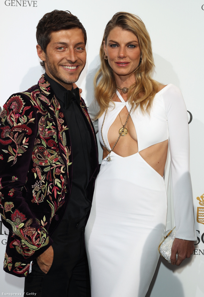 Ők itt  Evangelo Bousis,színész, és Angela Lindvall, ugyancsak