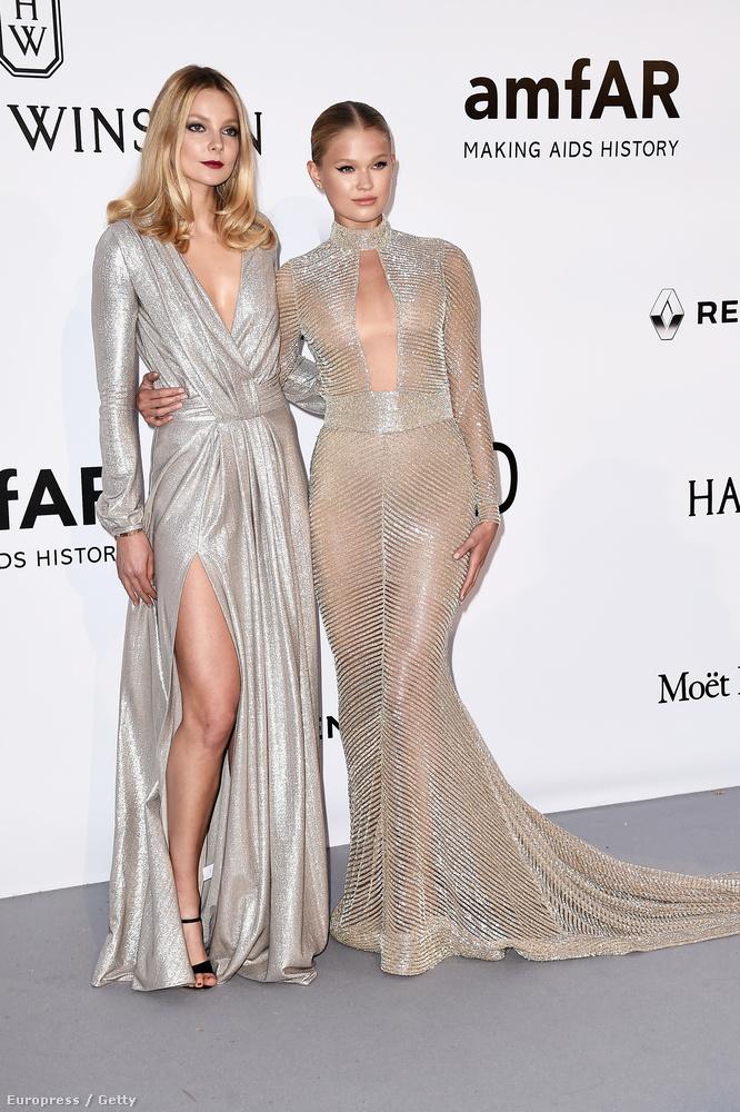 Magát a tényt már említettük, de most bővebben is kifejtjük: Mihalik Enikő és Palvin Barbara is ott voltak az amfAR jótékonysági gálán múlt éjjel, Cannes-ban.Ezen a képen Mihalikot láthatja, Vita Sidorkina modellel.