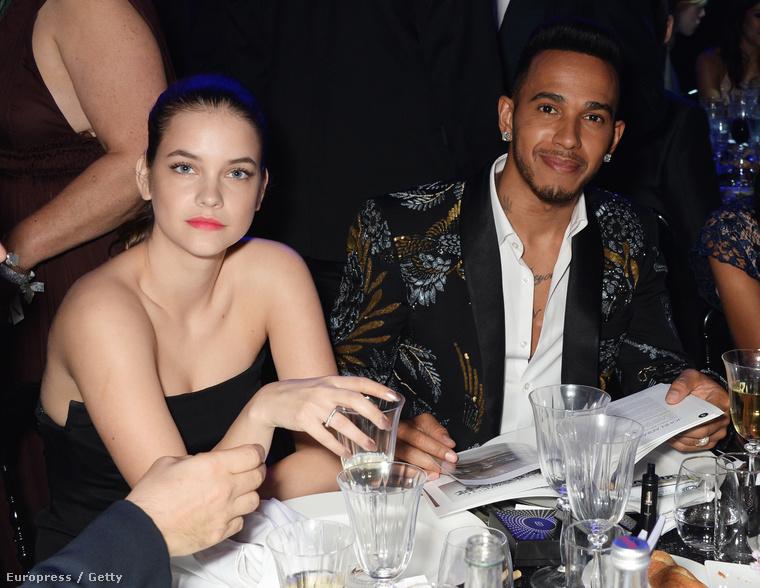 Palvin Barbara sem maradt ki a Cannes-i bulikból, a modell Lewis Hamiltonnal töltötte az egyik estét