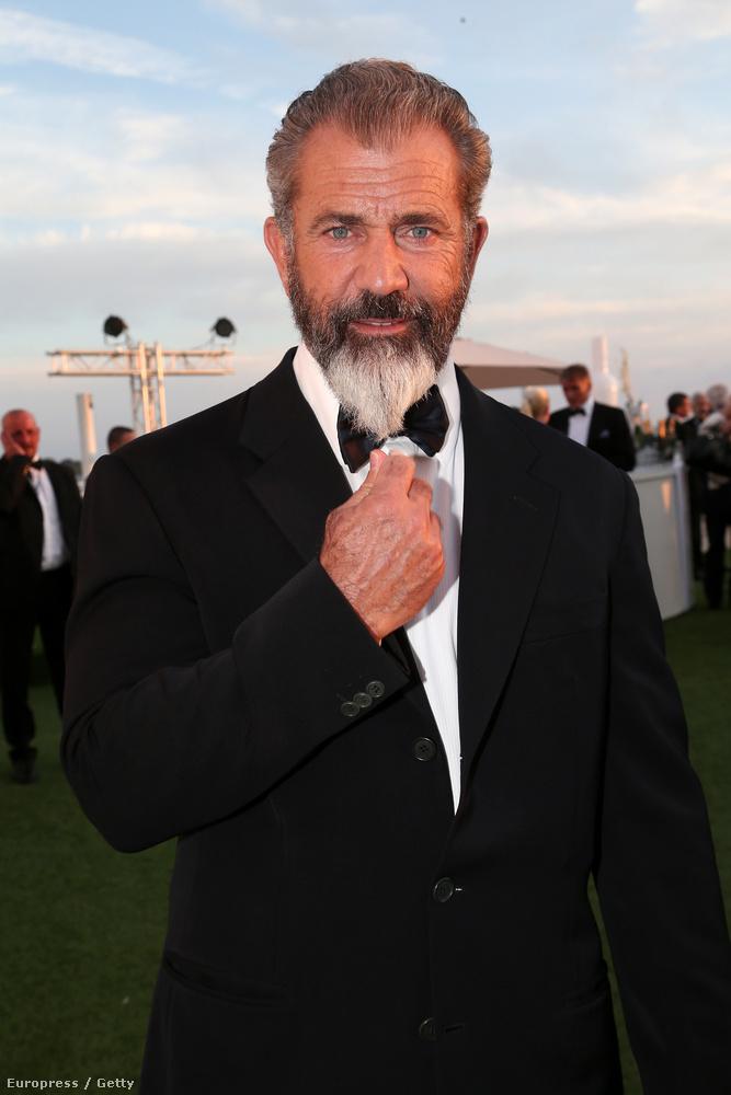 Itt van például  Mel Gibson.