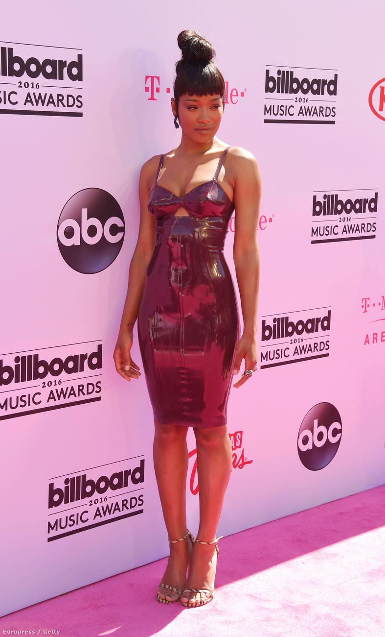 Keke Palmer színésznő is, énekesnő is, és ő szexi robotnőt varázsolt önmagából erre az estére