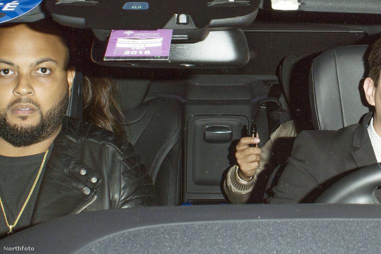 Nem ez az első alkalom, hogy Palvin Barbara és Lewis Hamilton közös fotón szerepelnek