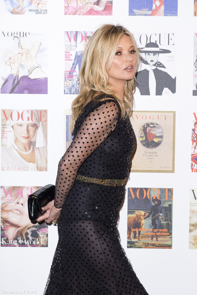 Ott volt Kate Moss is